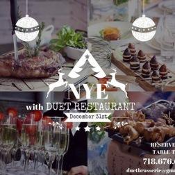 NYE at Duet Restaurant