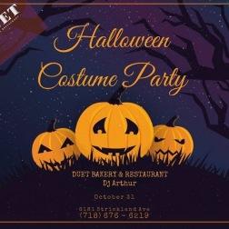 Halloween at Duet Restaurant